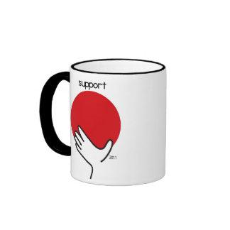 Support Japan Ringer Mug