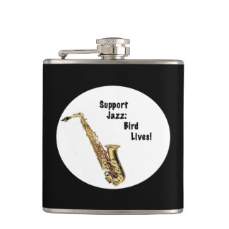Support Jazz Flask
