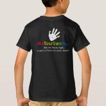Support Julia's Fight!  Handprints T-Shirt