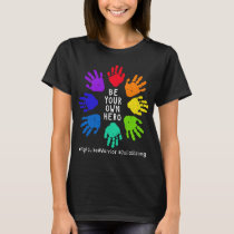 Support Julia's Fight!  Handprints T-Shirt
