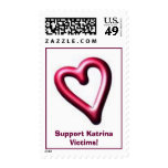 Support Katrina Victims! Postage Stamps