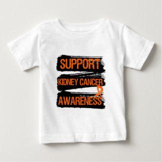 Support Kidney Cancer Awareness Grunge (Orange) T-shirts