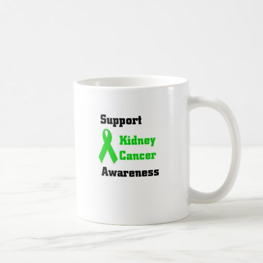 Support Kidney Cancer Awareness Classic White Coffee Mug