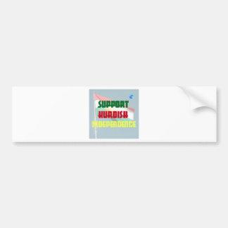 Support Kurdish Independence Bumper Sticker