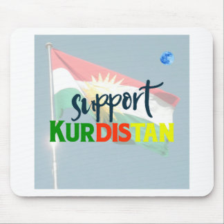 Support Kurdistan Poster 2 Mouse Pad