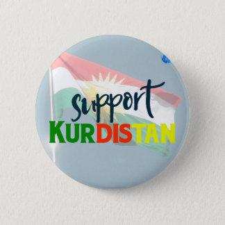 Support Kurdistan Poster 2 Pinback Button