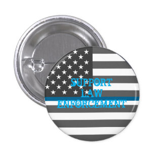 Support Law Enforcement Button