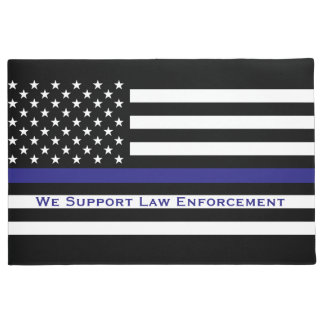 Support Law Enforcement Doormat