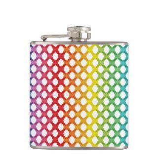 Support LGBT Gay Lesbian Pride Rainbow Flask