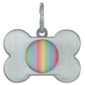 Support LGBT Gay Lesbian Pride Rainbow Pet Tag