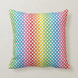 Support LGBT Gay Lesbian Pride Rainbow Pillow