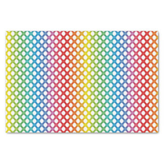 "Support LGBT Gay Lesbian Rainbow Tissue Paper 10"" X 15"" Tissue Paper"