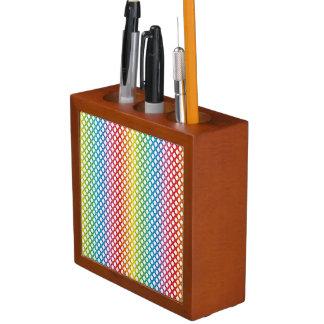Support LGBT Rainbow-Keep Calm Desk Organizer
