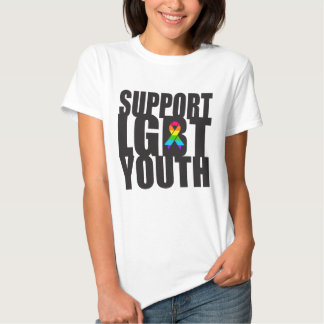 Support LGBT Youth Tee Shirt
