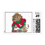 Support Lions! Postage