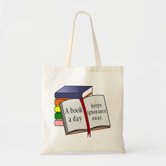 Support literacy Encourage reading Tote Bag