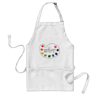 Support Living Artists Apron