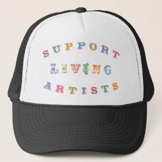 Support Living Artists Trucker Hat
