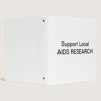 Support Local AIDS Research Binder