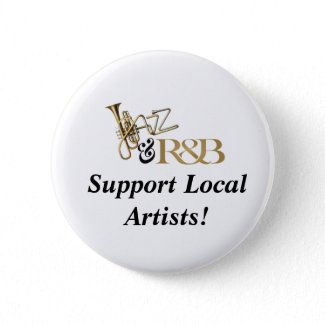 Support Local Artist Button