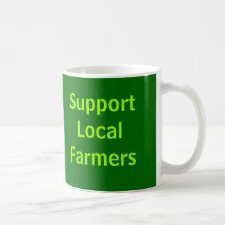 Support Local Farmers Classic White Coffee Mug