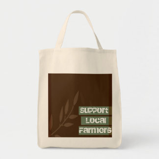 Support Local Farmers_Organic Tote Bag