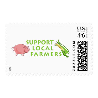 Support Local Farmers Stamps