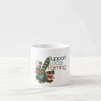 Support Local Farming Espresso Cup