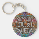 Support Local Music Keychains