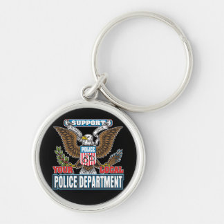 Support Local Police Keychain