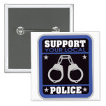 Support Local Police Pin