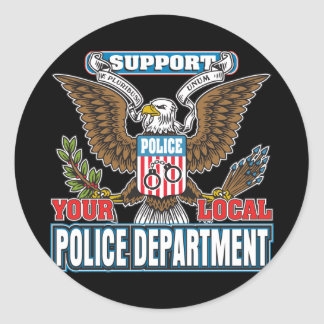 Support Local Police Sticker