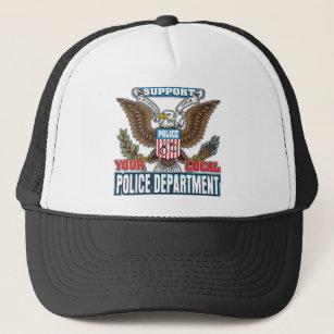 Support Local Police Trucker Hat cc3e7bb9713c