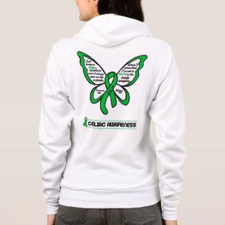 Support/Love/Believe...Celiac Hoodie