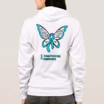 Support/Love/Believe...Dysautonomia Hoodie
