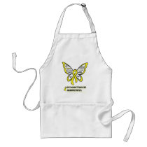 Support/Love/Believe...Endometriosis Adult Apron