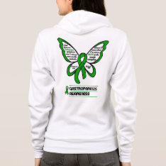 Support/love/believe...gastroparesis Hoodie at Zazzle