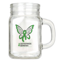 Support/Love/Believe...Gastroparesis Mason Jar