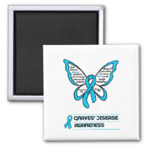 Support/Love/Believe...Graves' Magnet