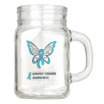Support/Love/Believe...Graves' Mason Jar