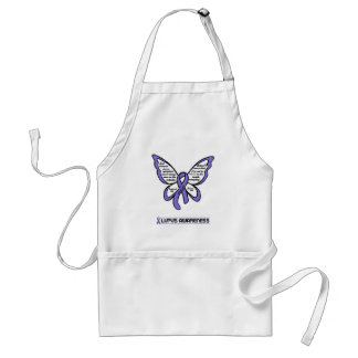 Support/Love/Believe...Lupus Adult Apron