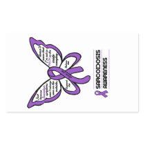 Support/Love/Believe...Sarcoidosis Rectangular Sticker