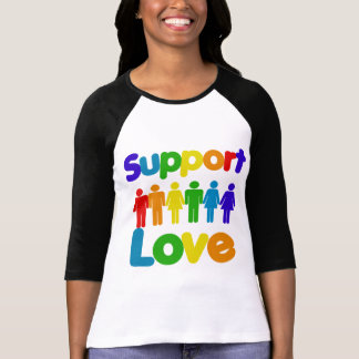Support Love - Gay Marriage T-Shirt