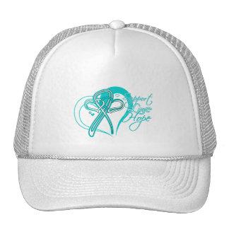 Support Love Hope - Cervical Cancer Hats