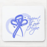 Support Love Hope - Esophageal Cancer Mousepads