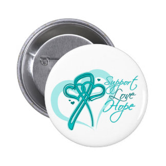 Support Love Hope - Gynecologic Cancers Button