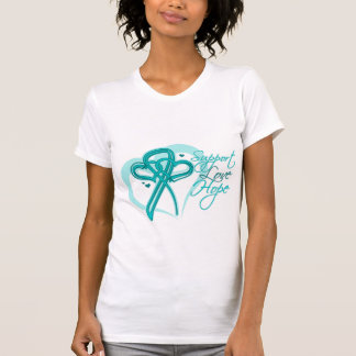 Support Love Hope - Gynecologic Cancers Shirts