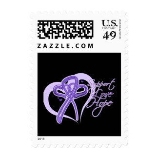 Support Love Hope - Hodgkin's Lymphoma Postage Stamp