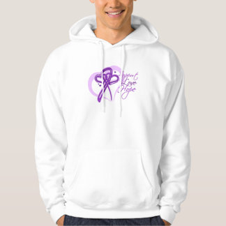 Support Love Hope - Pancreatic Cancer Hoodie