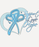 Support Love Hope - Prostate Cancer Tshirt
